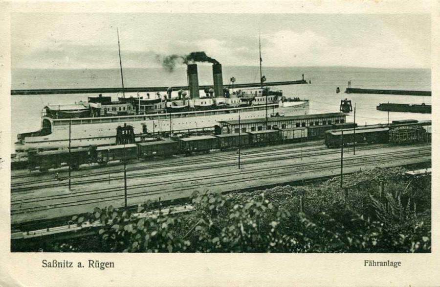Saßnitz Fähranlage 1927