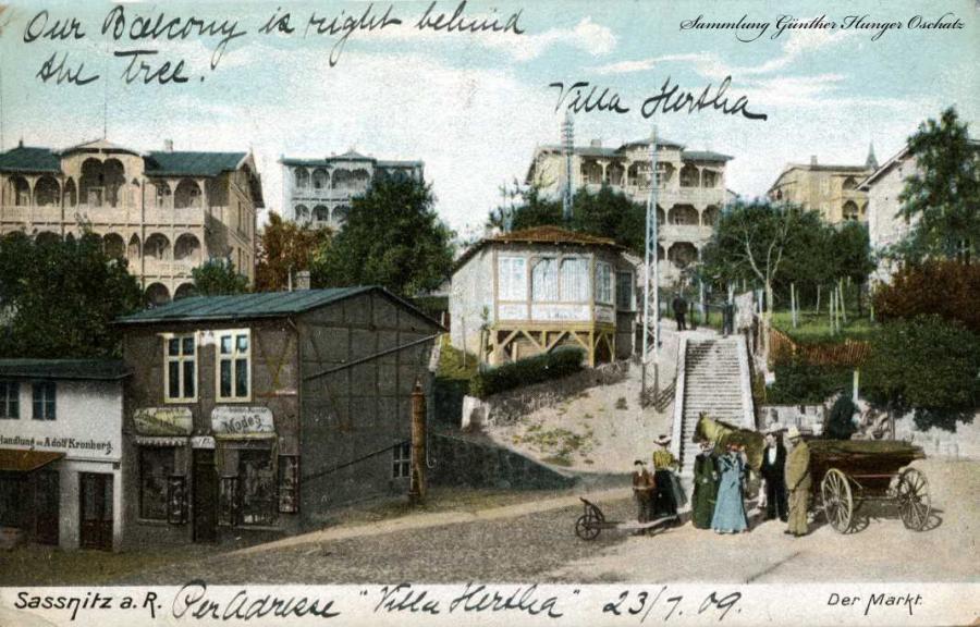 Sassnitz a.R. Der Markt