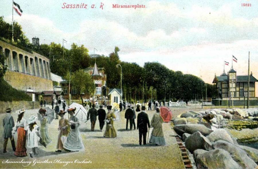 Sassnitz a. R. Miramareplatz