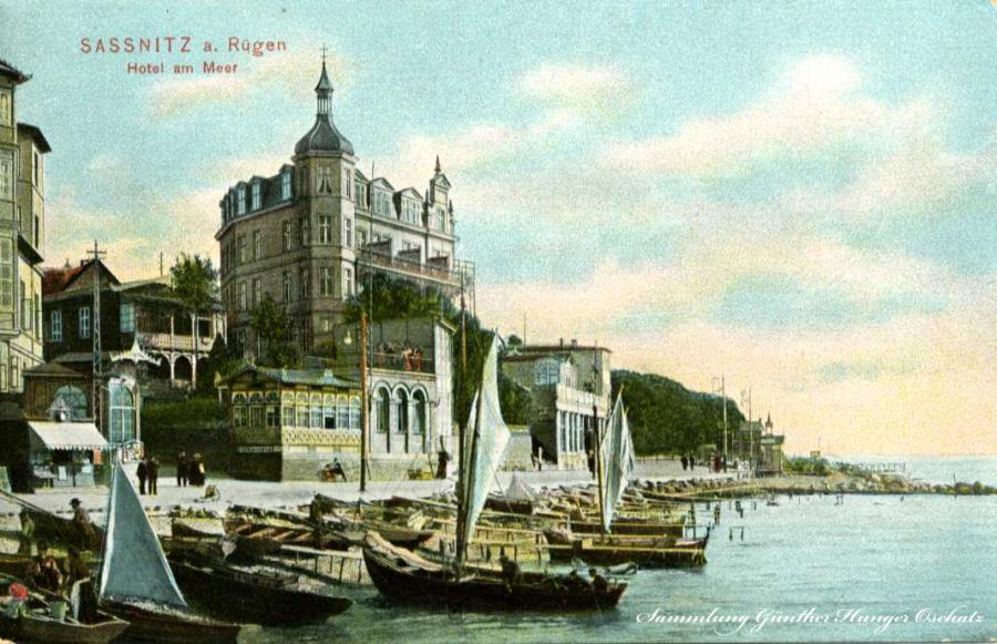 Sassnitz a. Rügen Hotel am Meer