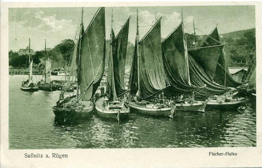 Saßnitz Fischer Hafen