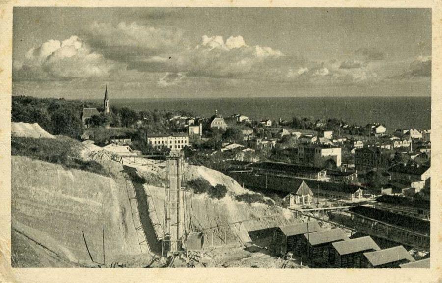 Saßnitz mit Kreidewerk