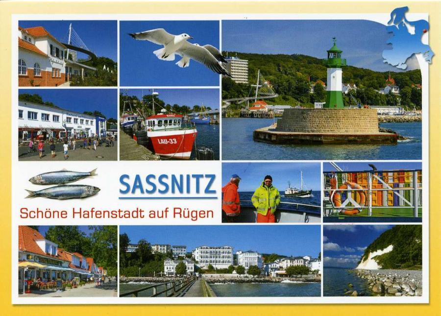 Sassnitz Schöne Hafenstadt