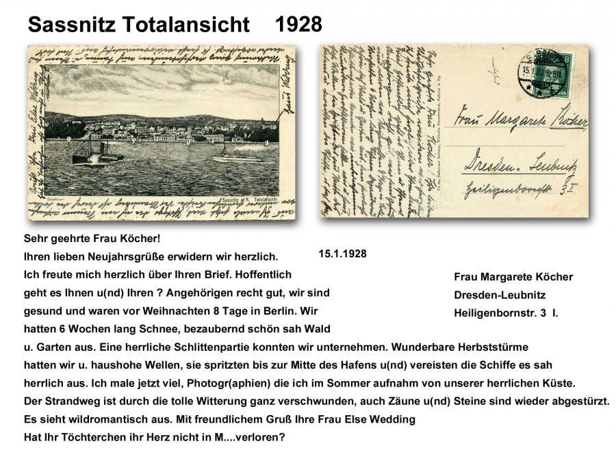 Sassnitz Totalansicht