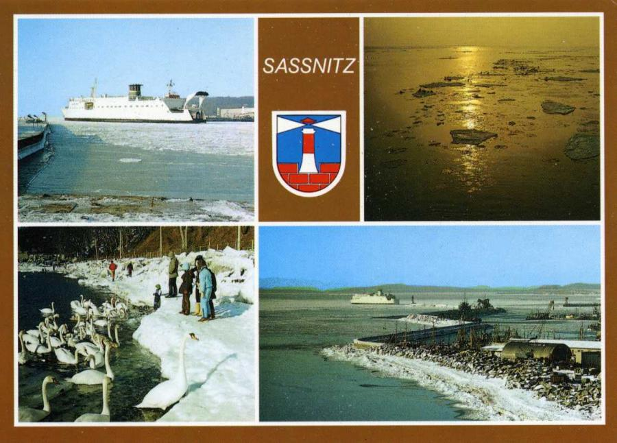 Sassnitz Winter 1987