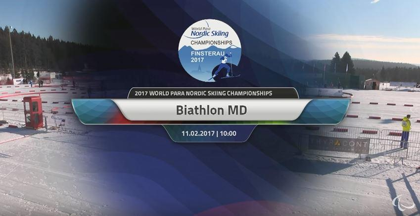 Saturday 11.02.2017 Biathlon middle distance