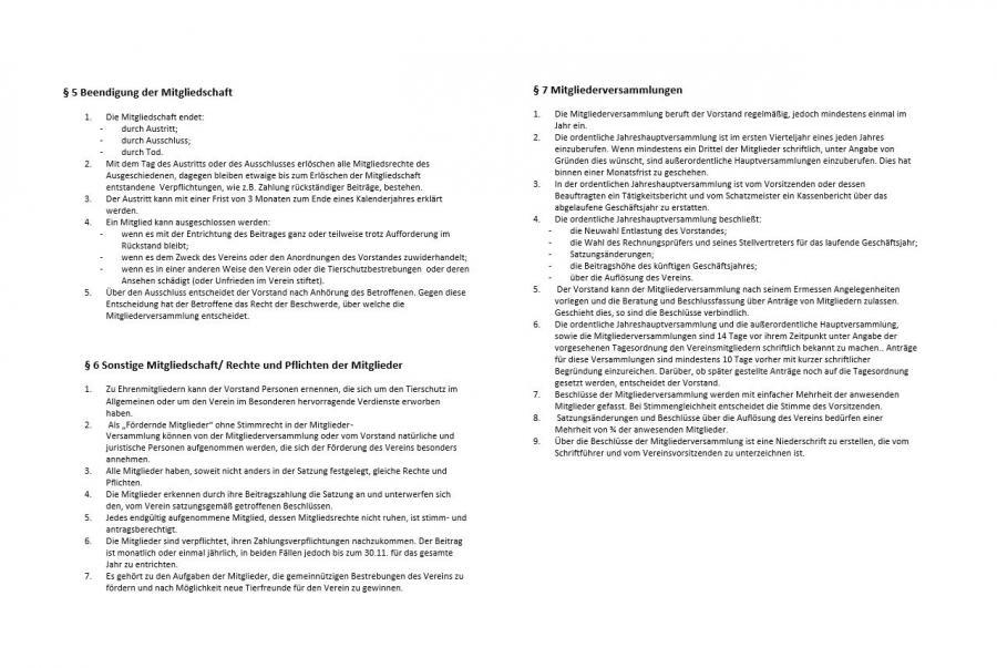 Satzung - Seite 2