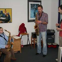 Saxophonunterricht Unterrichtsfach an der Musikschule des Music College Hannover
