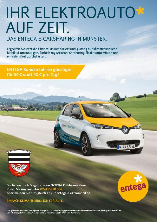 Plakat e-Carsharing