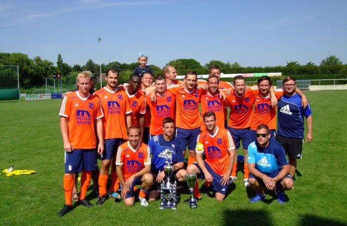 Supercup-Gewinner 2015: SV Blau- Weiß Zorbau II