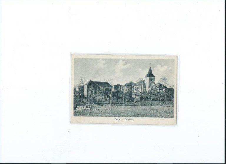 Historische Aufnahmen von der Burg und von der Kirche