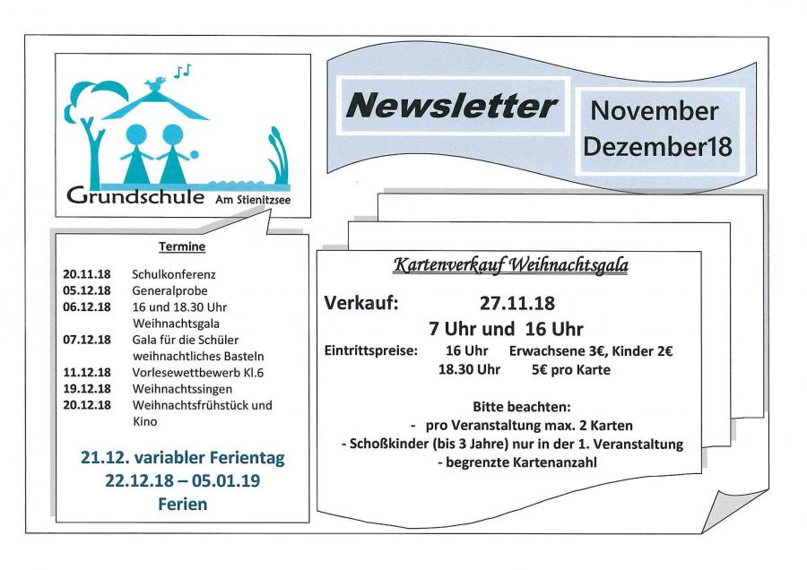 Newsletter Nov Dez 18
