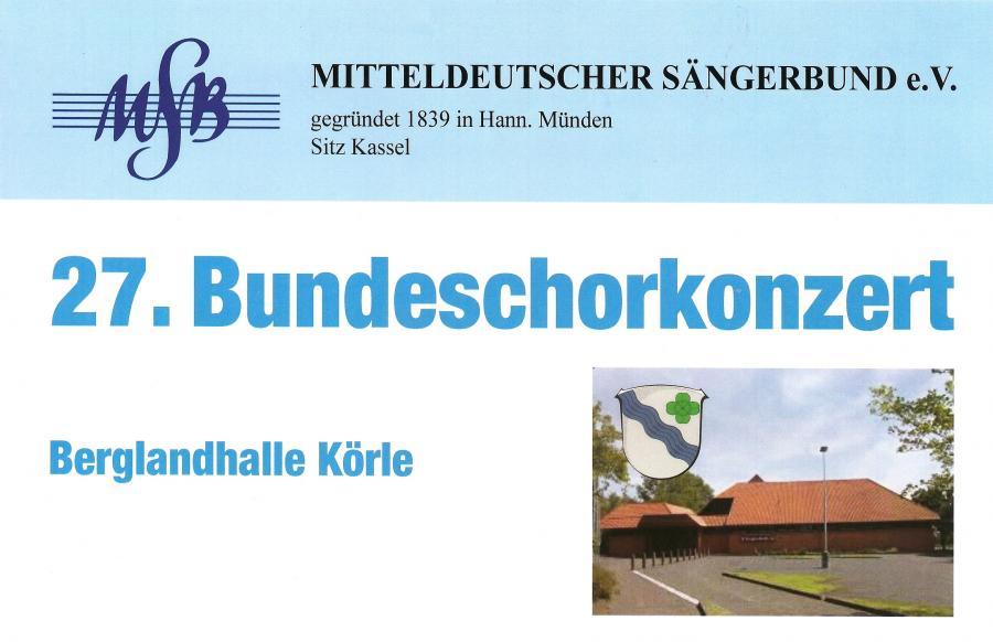 Bundeschorkonzert