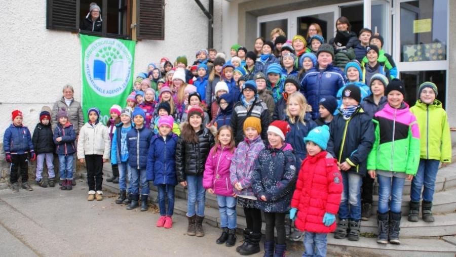 Freude über Auszeichnung zur Umweltschule