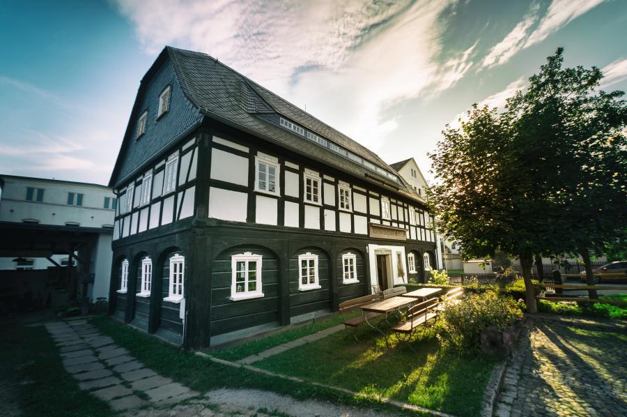 Cunewalde Umgebindehaus