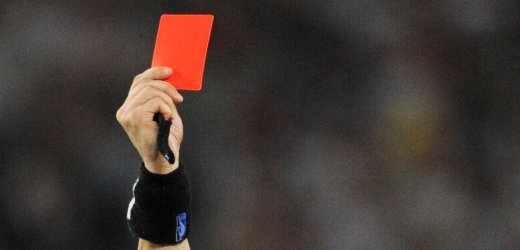 Schiedsrichter - Rote Karte