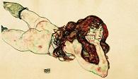 Egon Schiele Liegender Akt
