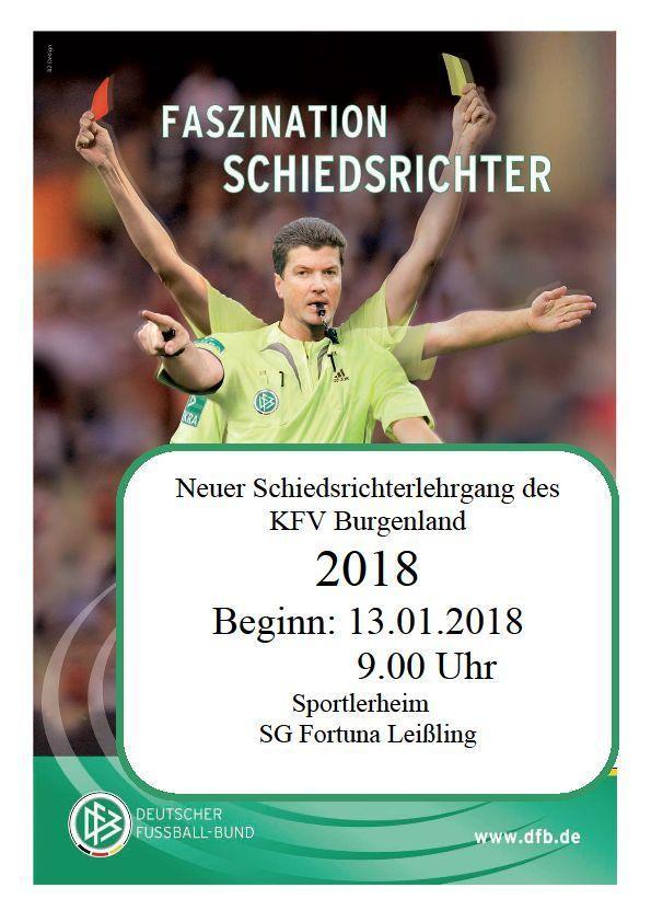 Schiedsrichterlehrgang 2018