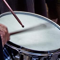 Schlagzeugunterricht Unterrichtsfach an der Musikschule des Music College Hannover