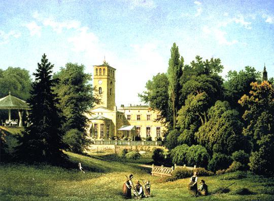 Schloss Blumberg um 1840