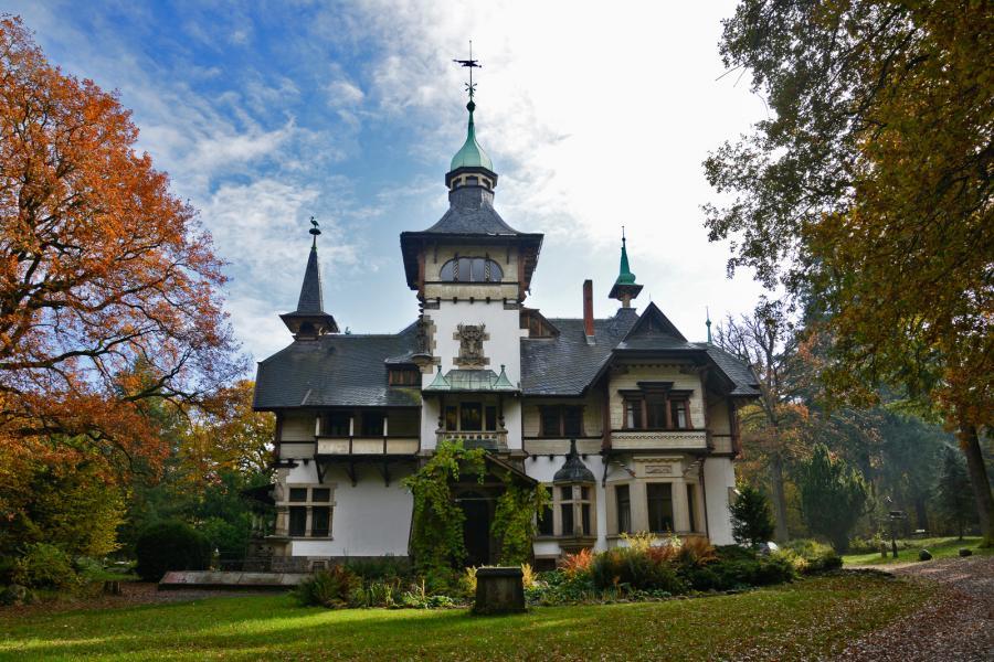 Schloss-Heinrichshorst Aussenansicht