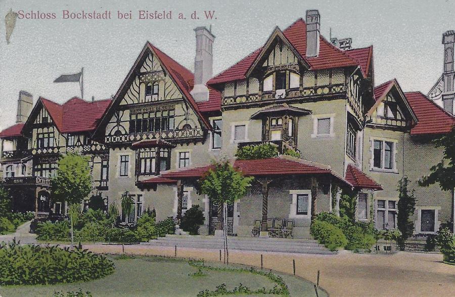 Frontansicht Schloss Bockstadt