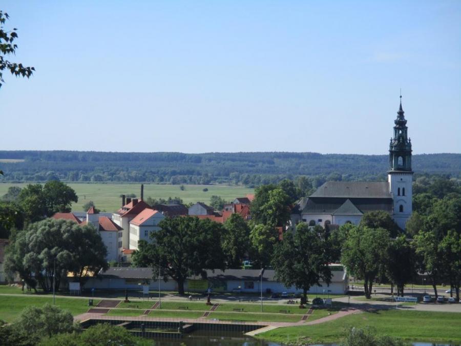 Panorama von Krosno Odrzanski, Foto: Klaus Ahrendt