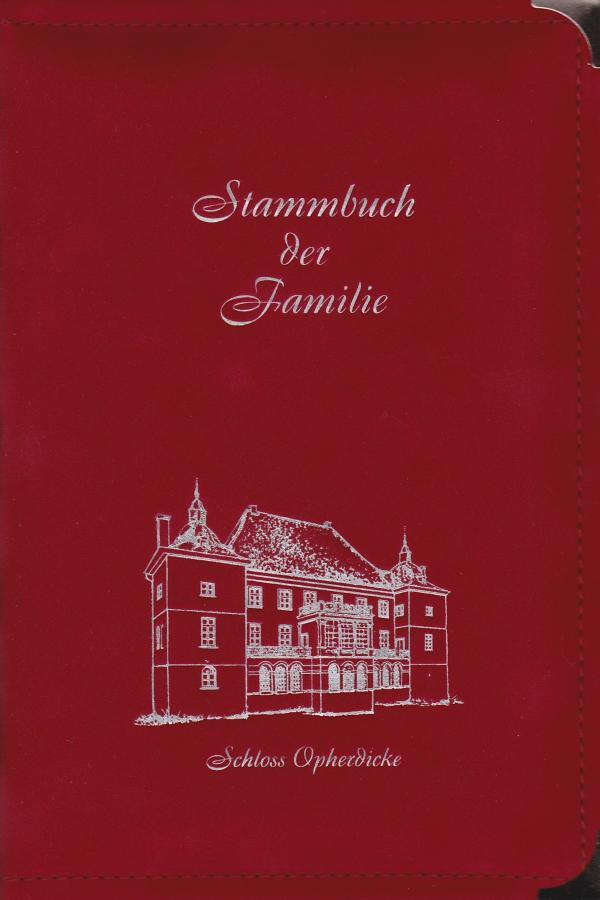 Schloß Opherdicke, Mona rot, A5 23 €