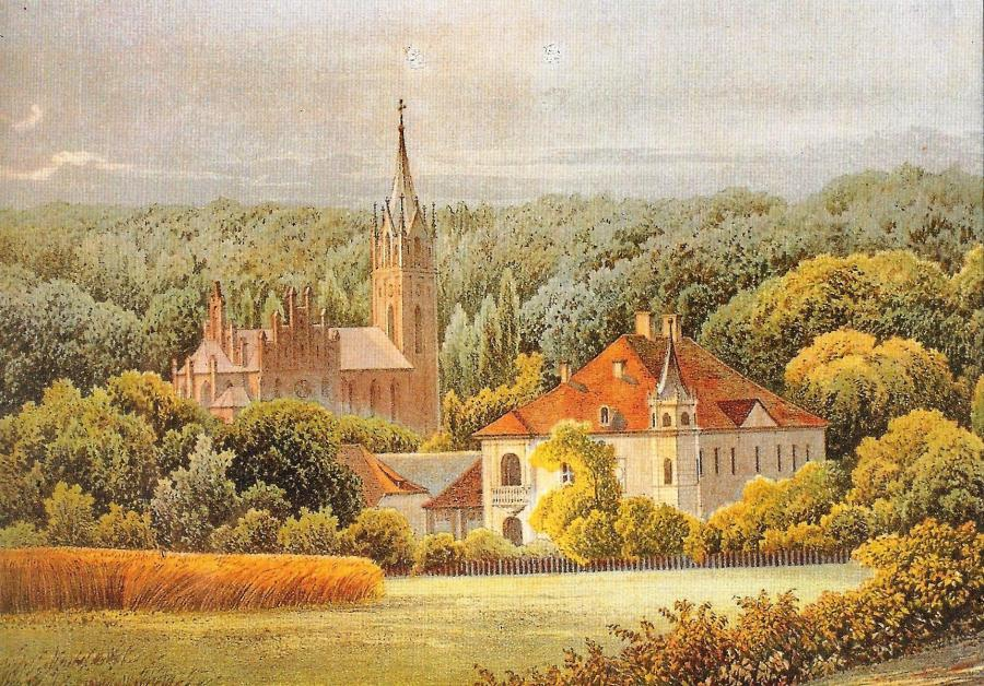 Schloss Reitwein (Dunker Stich)