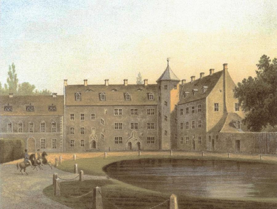 Schlossansicht aus der Sammlung von Duncker