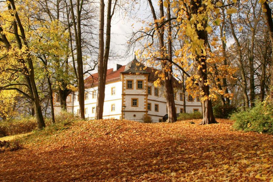 Ansicht Schlosspark Marisfeld