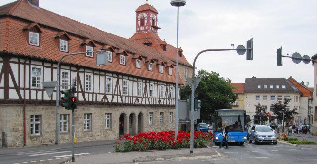 Rosenbepflanzung Schlossplatzkreuzung