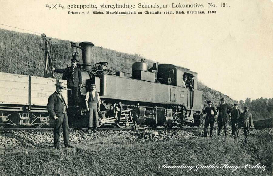 Schmalspur-Lokomotive No.131