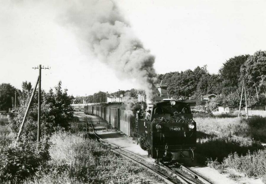 Schmalspurbahn Putbus-Göhren 1988