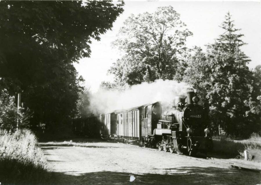 Schmalspurbahn Putbus-Göhren 1985