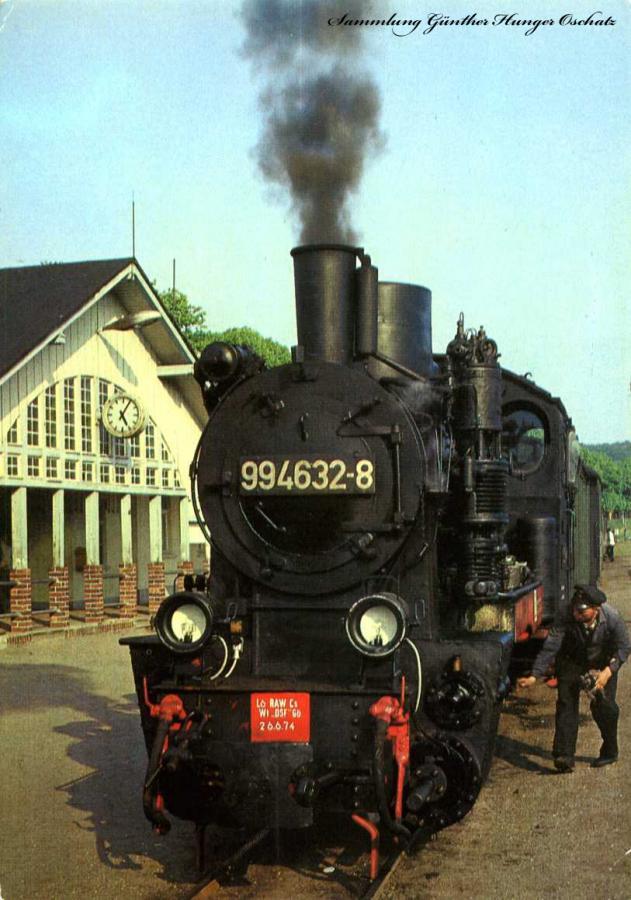 Schmalspurbahn Putbus-Göhren Bahnhof Binz Ost