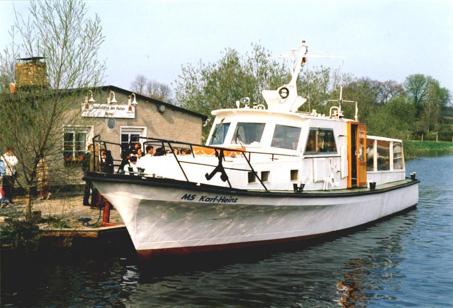 "Das neue Motorschiff ""Karl-Heinz II"", 30.4.1995"