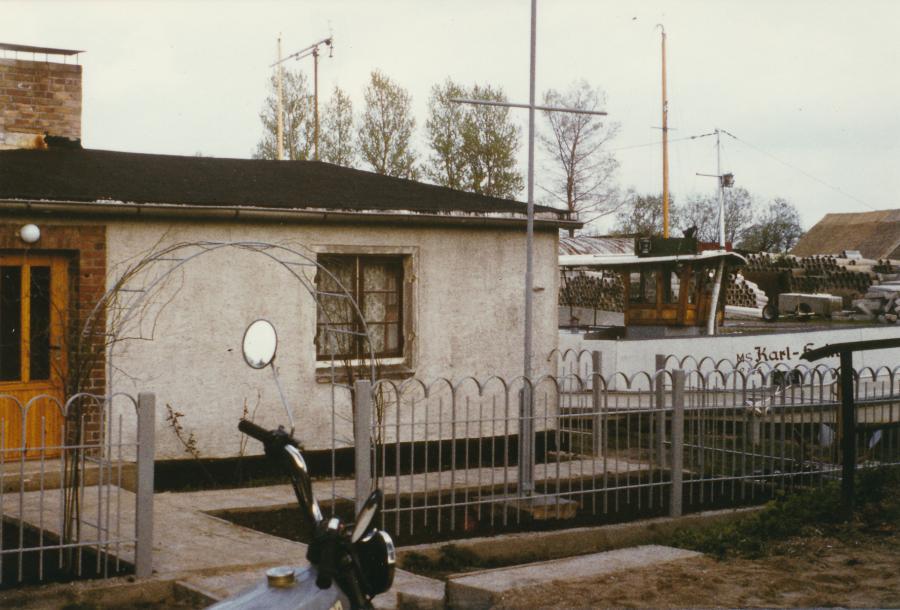 Das Haus am Hafen 1983