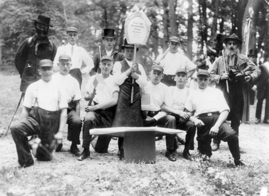 Ausflug der Schmiedegesellen 1931