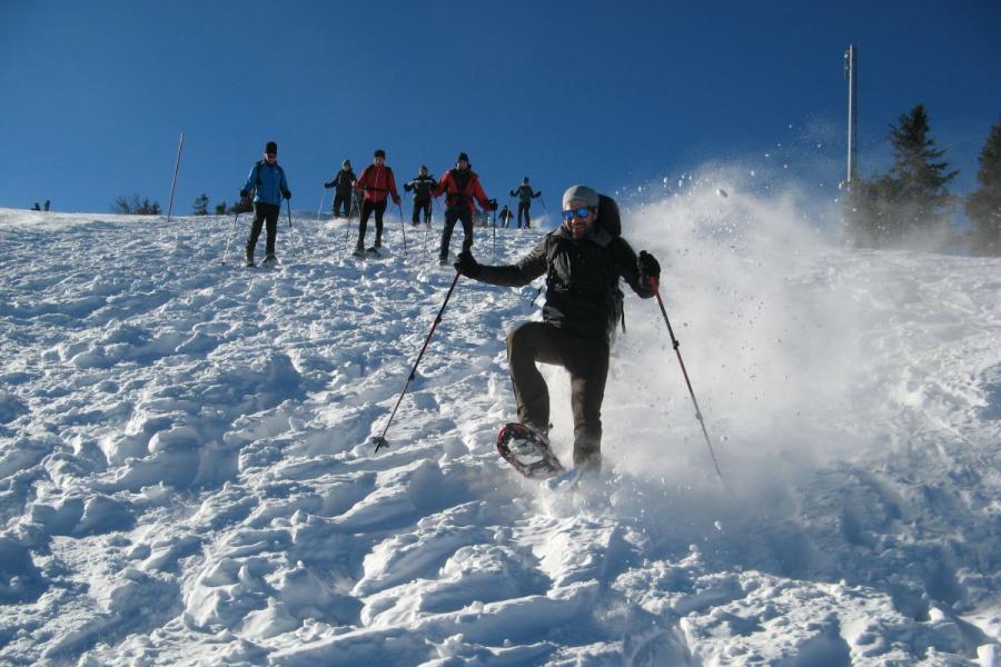 Schneeschuh-Tour mit Bohemia Tours
