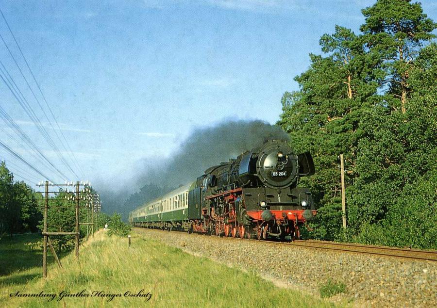 Schnellzuglokomotive 03 204