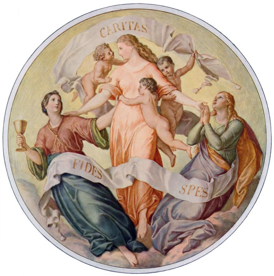 Schnorr von Carolsfeld - Glaube, Liebe, Hoffnung