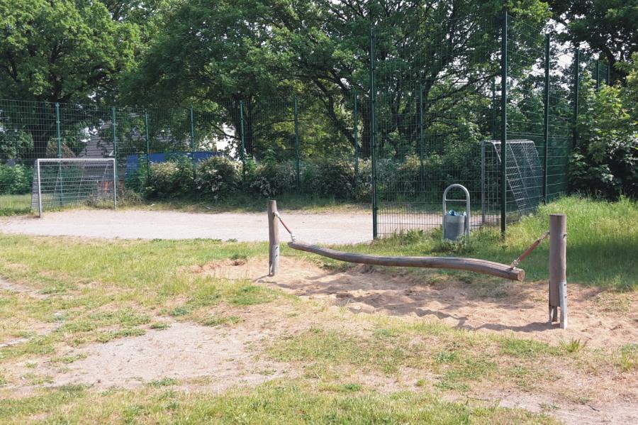 Schönerlinde Spielplatz Mühlenbecker Straße Bolzplatz, Foto: Gemeinde Wandlitz