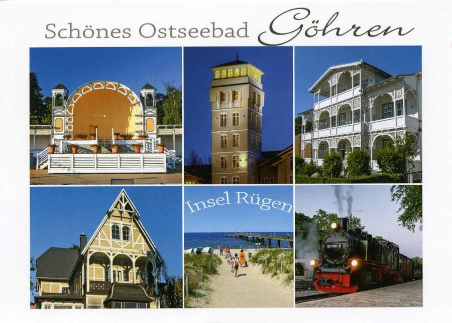 Schönes Ostseebad Göhren