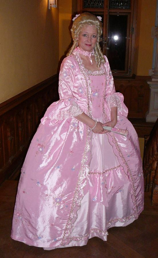 Rokoko Hochzeitskleid