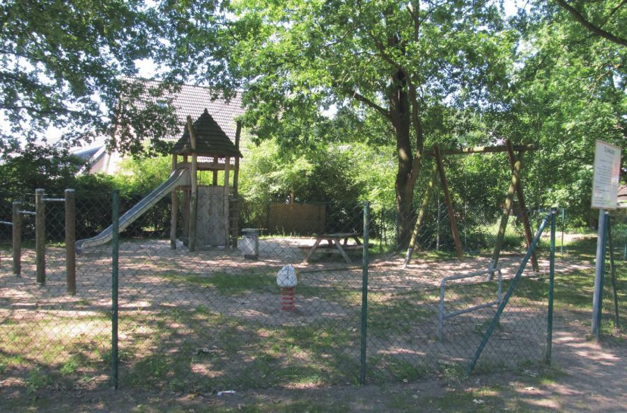 Schönwalde Spielplatz Leinewebersiedlung, Foto: Gemeinde Wandlitz