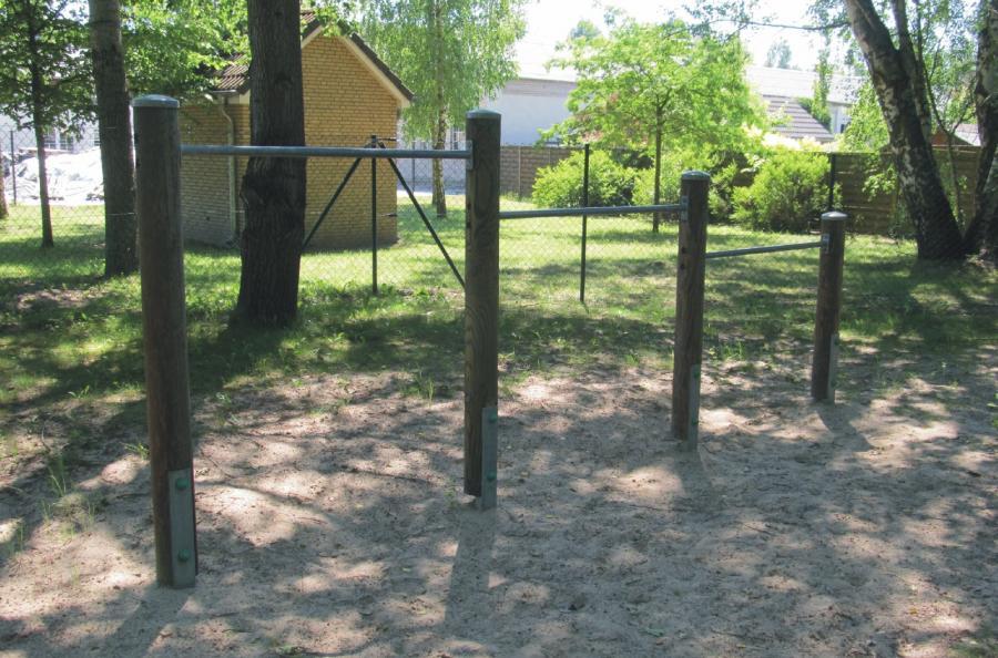 Schönwalde Spielplatz Leinewebersiedlung Reck, Foto: Gemeinde Wandlitz