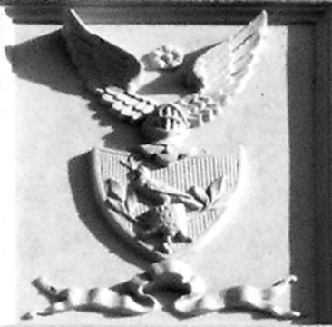 Wappen am Gutshaus Schorrentin
