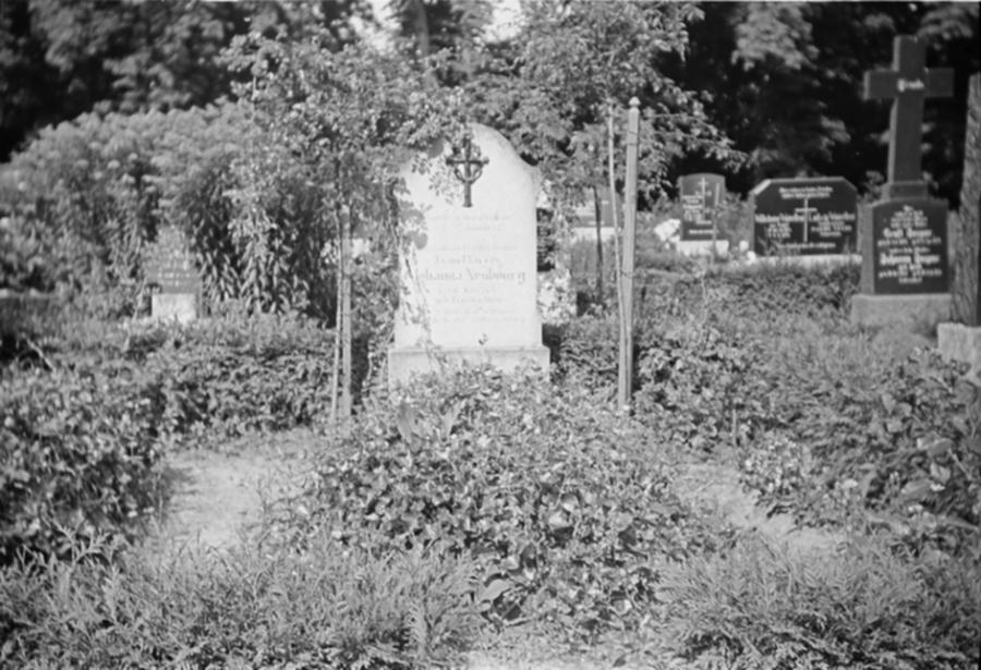 Schorrentiner Friedhof, Ende der 1930er Jahre