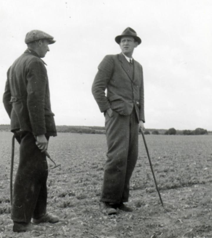 Hermann Schumacher und Hans-Wilhelm Viereck